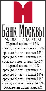 автокредит Банк Москвы