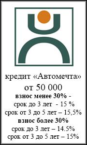 автокредит  Ханты-Мансийский банк