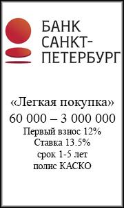 автокредит банк санкт-петербург