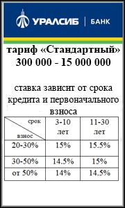 Ипотека Уралсиб
